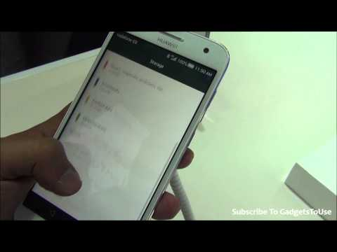 Huawei Ascend G7 Hands on Review, Camera, Price, Features, Comparison and Overview at MWC 2015