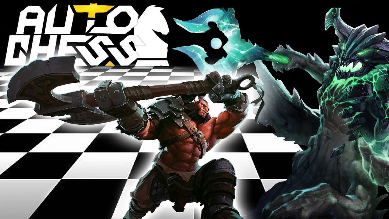 COUP DE ♥ CHESS AUTO Warrior Build FR (Dota 2 Mod)
