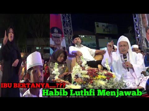 Ciri-Ciri Waliyullah Habib Luthfi Bin Yahya Menjawab(Pati Bersholawat)