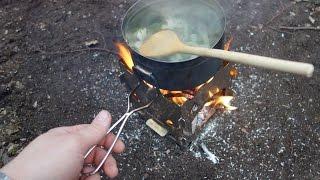 Jarný Bushcraft - raňajky v prírode