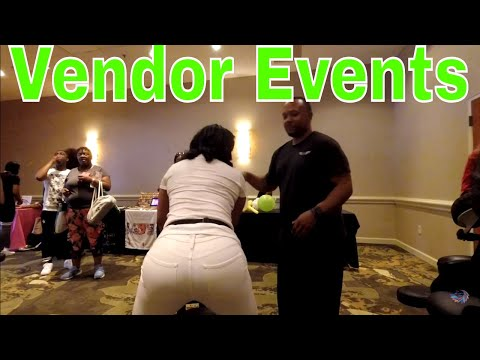 How to Set Up Your Vending Space & What to Expect During the Event Step by Step Pro's & Con's Pt. 2