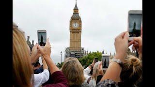 El Big Ben toca sus últimas campanadas antes de guardar silencio por 4 años
