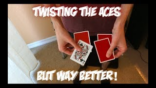 Twisting The Asher: Advanced Impromptu Card Trick Performance And Tutorial!