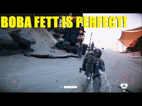Star Wars Battlefront 2 - A PERFECT GAME! Boba fett HvsV Killstreak! thumbnail