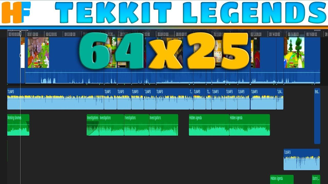 I Edited This One! | Tekkit Legends 64x25