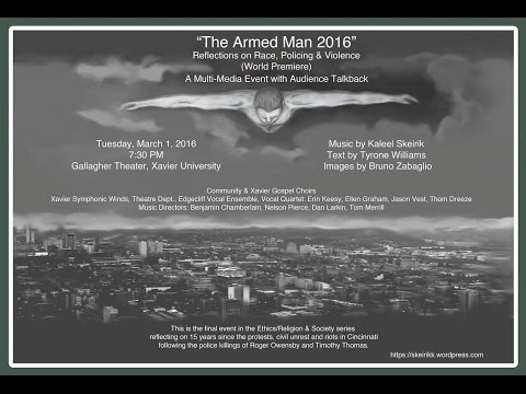 The Armed Man 2016-Xavier University, Cincinnati, Ohio