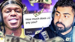 HOW MUCH DOES JJ PAY ME? ft KSI | THE MOST HONEST Q&A