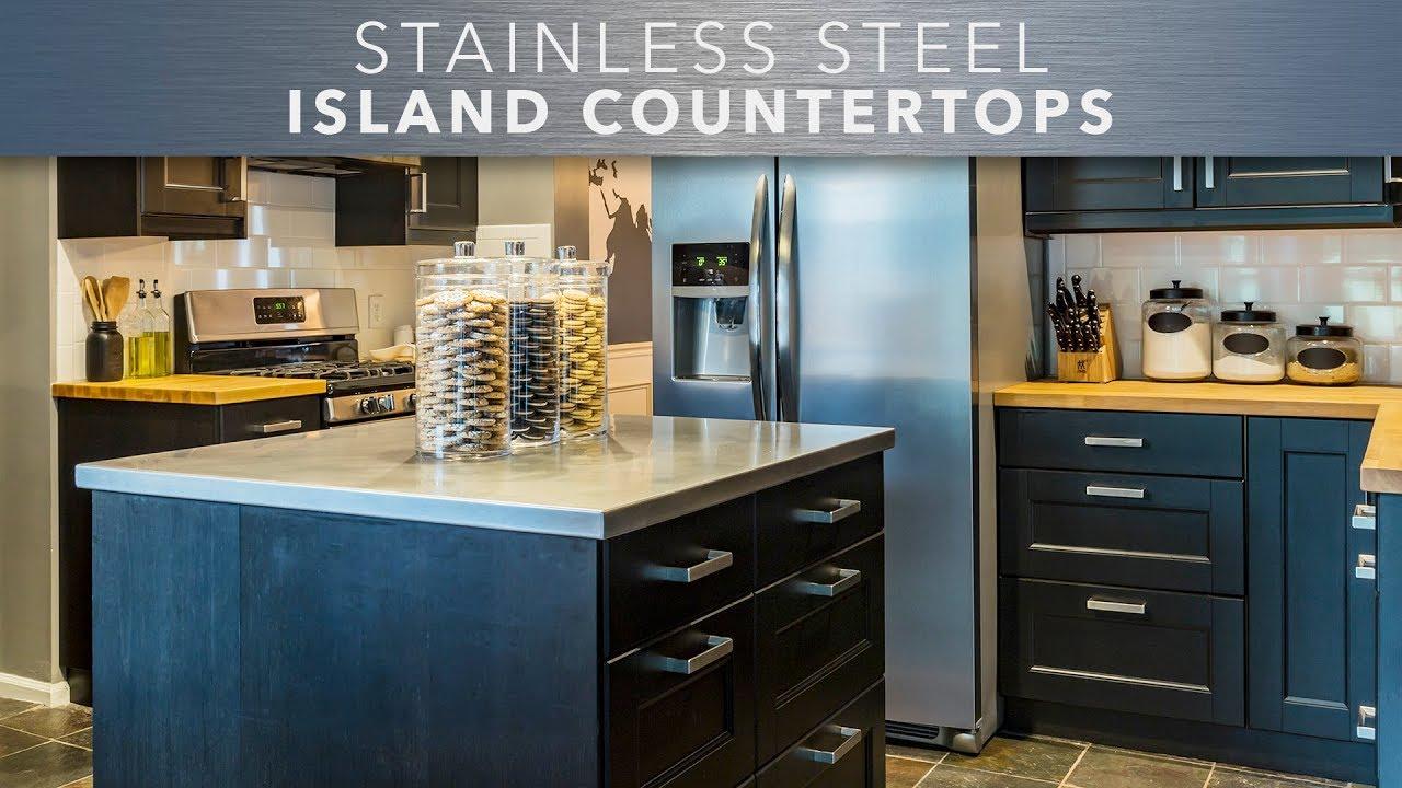 Stainless Steel Island Countertops