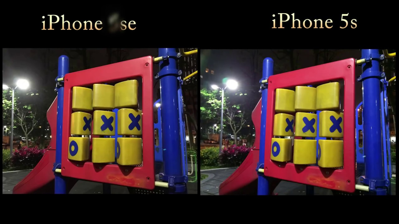 IPhone SE Vs 5S Camera Test