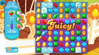 Candy Crush Soda Saga Level 903, played by Blogging Witch Peetra.