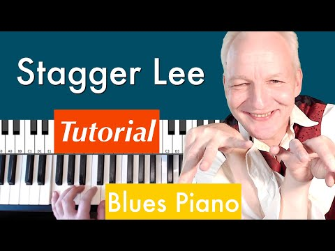 How to play Stagger Lee by Dr. John. Piano Tutorial. With full impro incl score