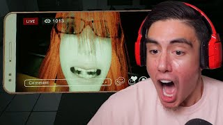 CLASSMATE GETS POSSESSED BY GHOST ON LIVESTREAM & IS COMING FOR YOU IN SCHOOL | Dreadout 2 [1]