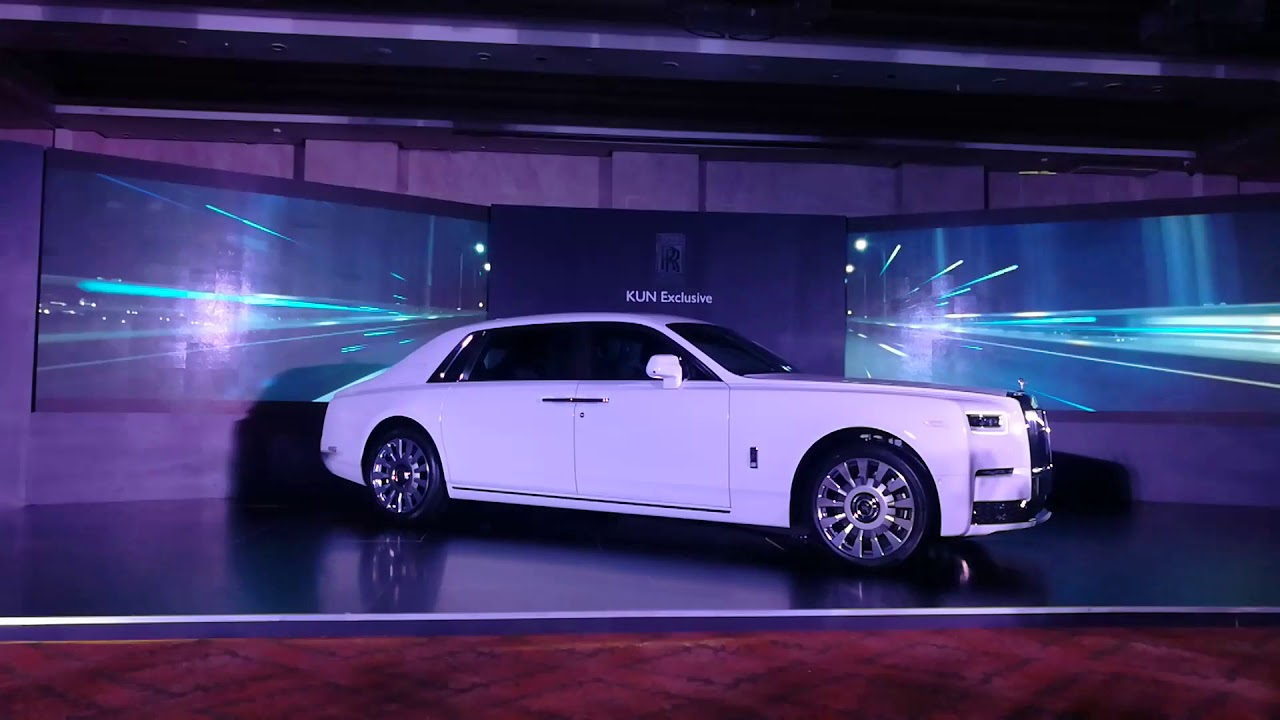 Rolls-Royce Phantom extended wheelbase India launch in ...