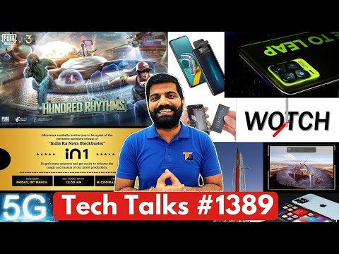 Tech Talks #1389 – Realme 8 Launch, In 1 Specs, OnePlus Watch, PUBG 1.3 APK, ISRO Rocket, Zenfone 8