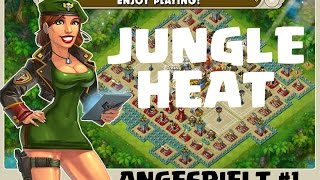 JUNGLE HEAT || CLASH OF CLANS CLON ODER MEHR? || ANGESPIELT [iOS/Android HD]