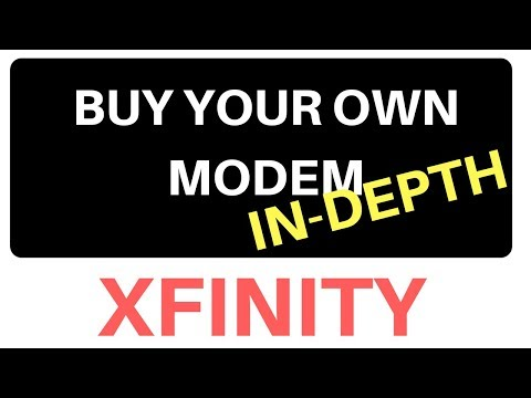 How To Buy A Modem And Router For Comcast Xfinity In-depth