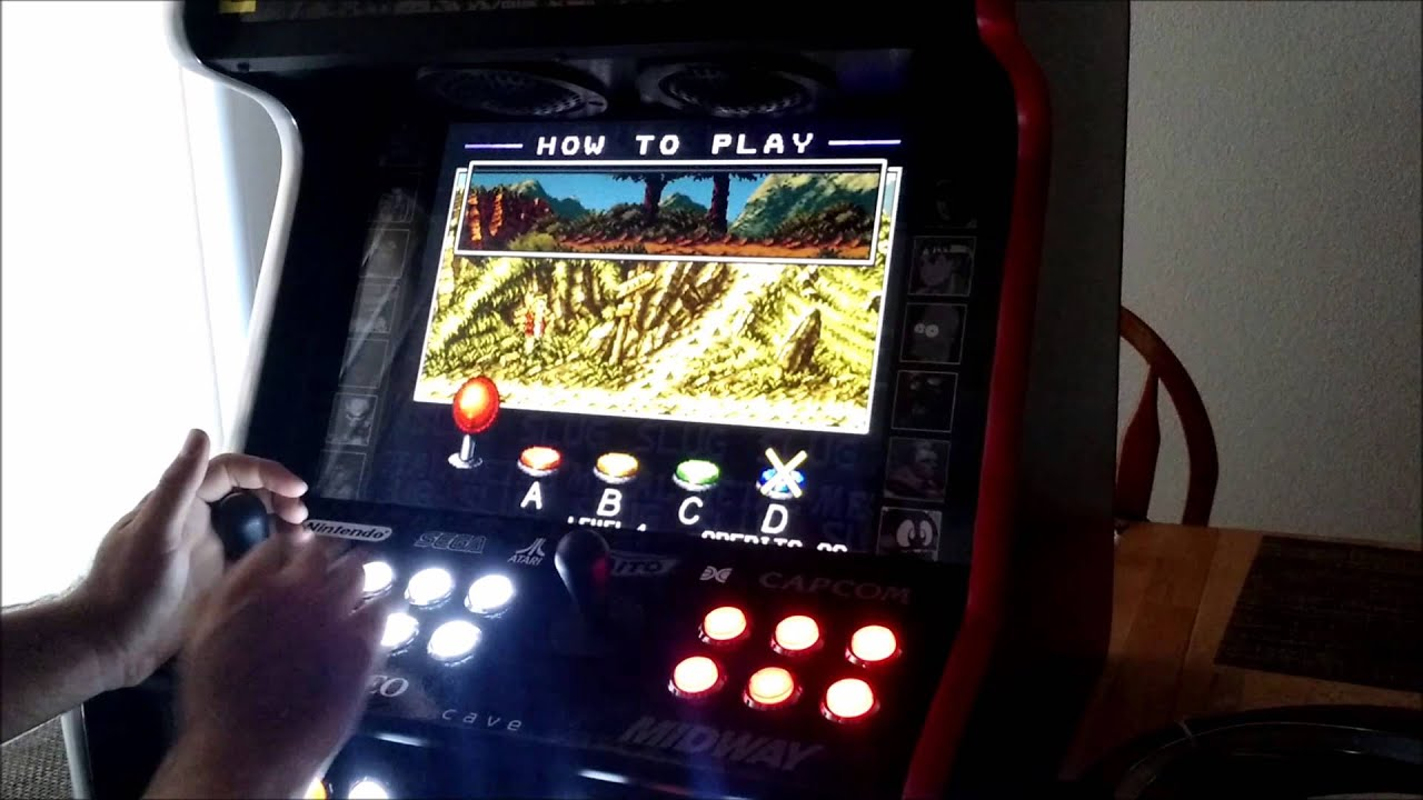 4 Player Arcade Cabinet Completed 4 Player Upright