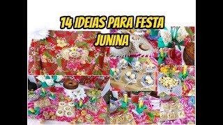 Baixar 14 ideias de decoração para festa Junina .