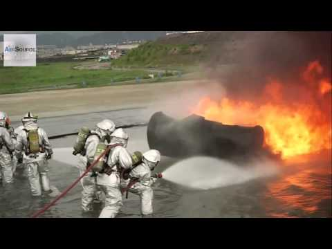 Marine Combat Firefighter - Aircraft Rescue And Firefighting Training