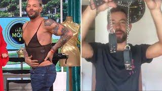 Agustín Sierra nos muestra su guardarropa, sus accesorios más osados y luces de emergencia 💡