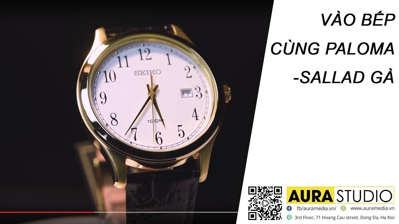 Quay video sản phẩm đồng hồ sang trọng