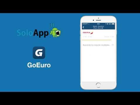 GoEuro: La Mejor App para Viajar al Mejor Precio