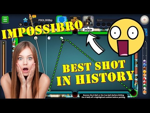 8 Ball Pool - BEST SHOT EVER SEEN FROM SNOOKER POSITION | Total indirect | Perfect Gameplay