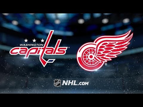 Washington Capitals vs Detroit Red Wings | Jan.06, 2019 | Game Highlights | NHL 2018/19 |Обзор матча