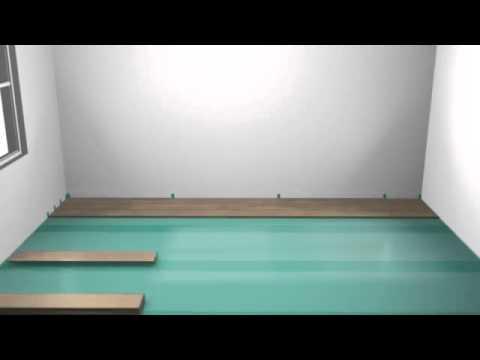 Laminato Pergo - Installazione - YouTube