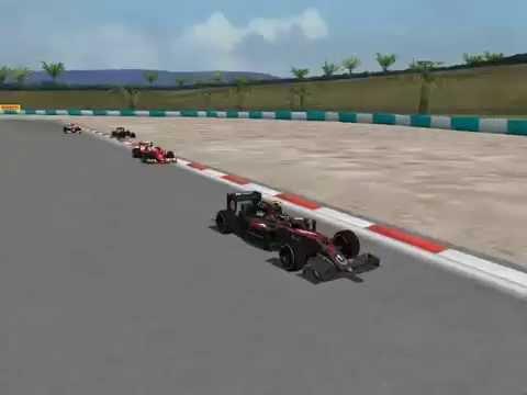 GP de Malasia en el juego F1 by Riki 2016