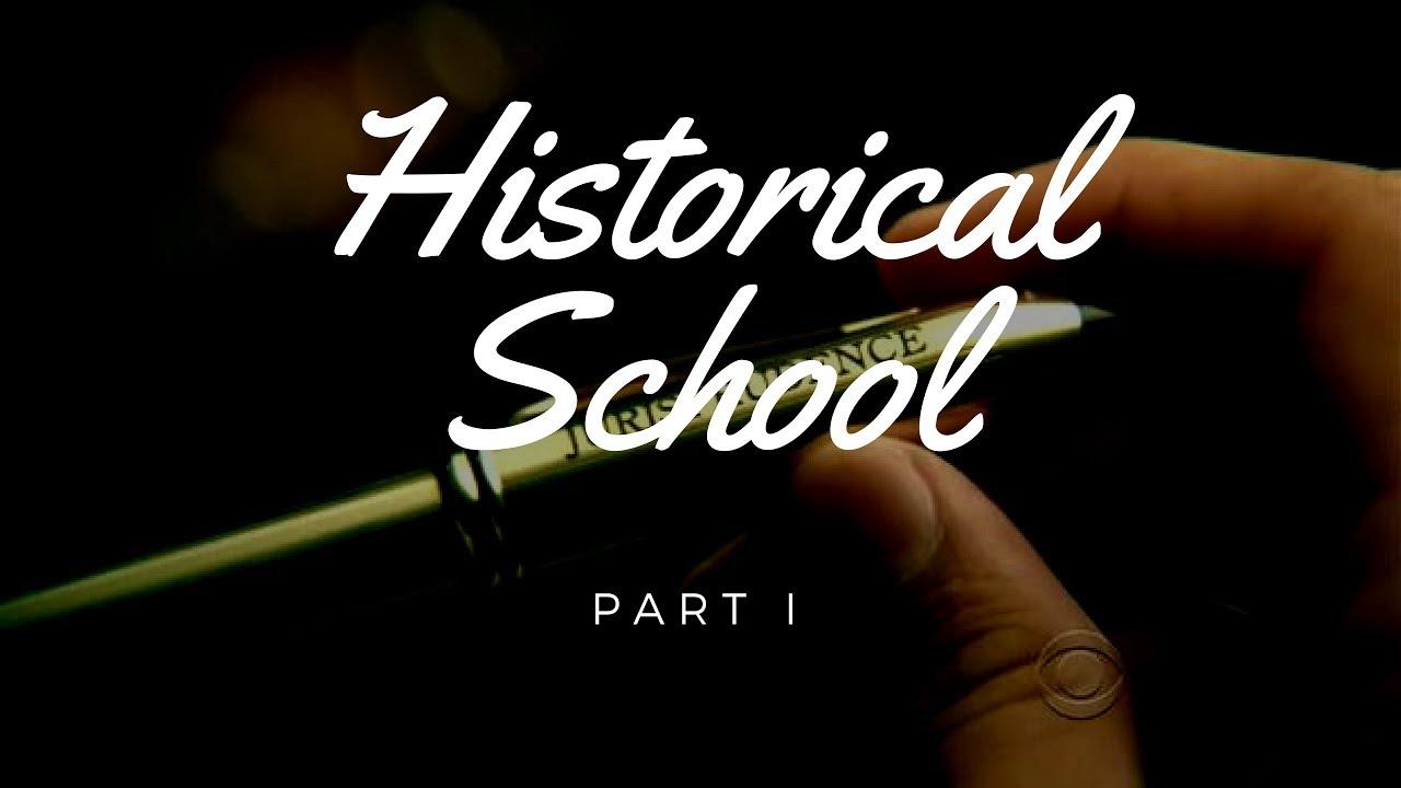 historical school of jurisprudence notes