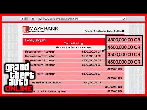 GTA 5 Online: Бесплатные деньги от Rockstar!