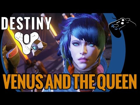Destiny Lvl 11 Story w/ Warlock:  Stranger's Call and the Queen of the Reef (No Commentary)