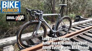 Rotor Uno Hydraulic Groupset Review with Allied Cycle Works Alfa Allroad!