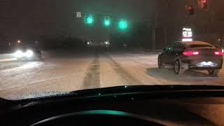 Winter Storm Harper Hits Greenwood, IN