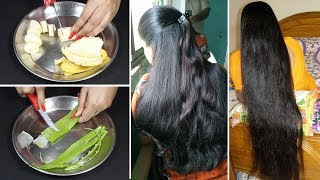 Apply It 1 Night || Grow Your Hair Super Fast Overnight || Magical Hair Growth Formula