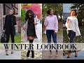 Winter Lookbook 2016   Outfits of the Week