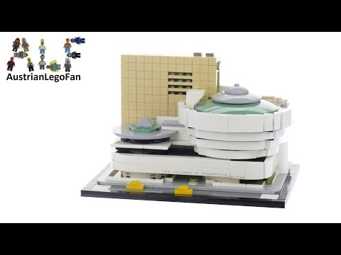 Lego Architecture 21035 Solomon R. Guggenheim Museum - Lego Speed Build Review