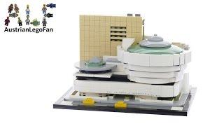 Lego Architecture 21035 Solomon R. Guggenheim Museum - Lego Speed Build Review