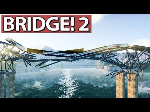 BRIDGE! 2 ANG►SPIELT - Der Brückenbau Simulator