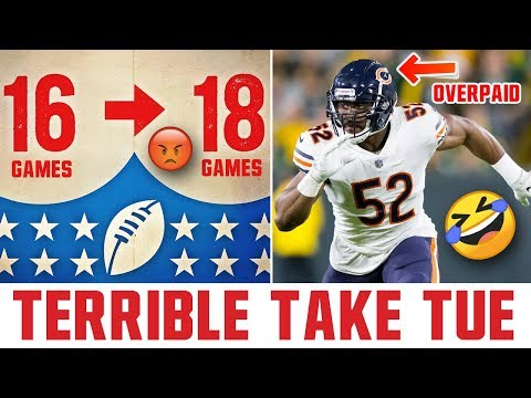 Terrible Take Tuesday (Submit Terrible Sports Takes For Future Videos!)