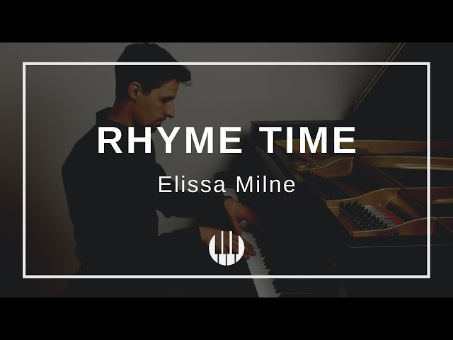Rhyme Time by Elissa Milne