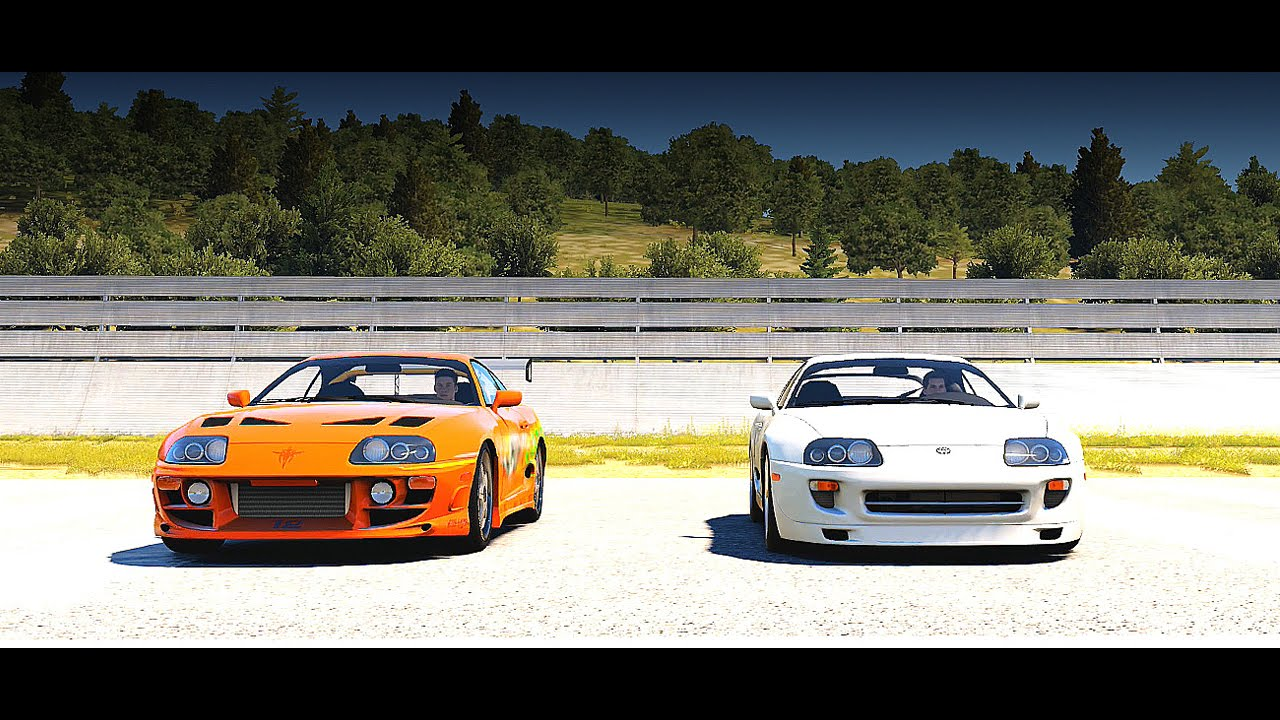 Supra Vs Charger >> Forza Horizon 2: Fast and Furious - Brians Toyota SUPRA RZ vs. Pauls Toyota SUPRA | Drag Race ...