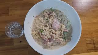 곰탕파스타 2인분 맛있게  해먹기 (삼겹살, 마늘, 청…