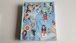 Unboxing Red Velvet 레드벨벳 4th Korean Mini Album Rookie
