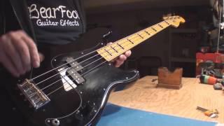 Squier Classic Vibe Precision Bass Guitar