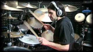 "Livio Campus - Black Coffee (blues version) Drum music video by ""Shut up And Play"""