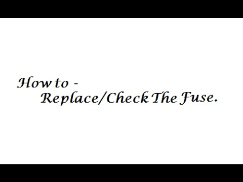 How to Check Replace Fuse on a Treadmill - YouTube Treadmill Tripping Fuse Box on tv fuse, cut off thermal fuse, dishwasher fuse, heater fuse, microwave fuse, toys fuse,