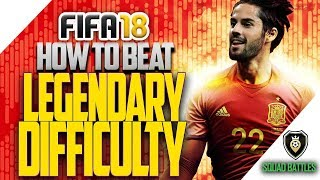 Video FIFA 18 Tips: How to Beat LEGENDARY Difficulty! download MP3, 3GP, MP4, WEBM, AVI, FLV Juni 2018