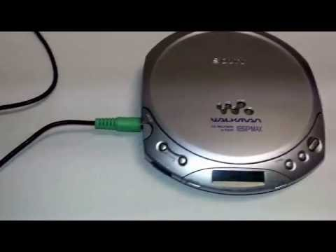 Sony D-E225 Walkman  Portable CD Player Silver ESPMax Tested Fresh Batteries